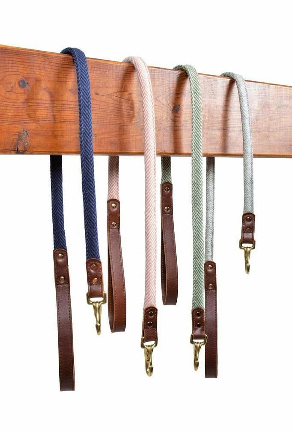 Tweedmill Rolled Herringbone Dog Lead