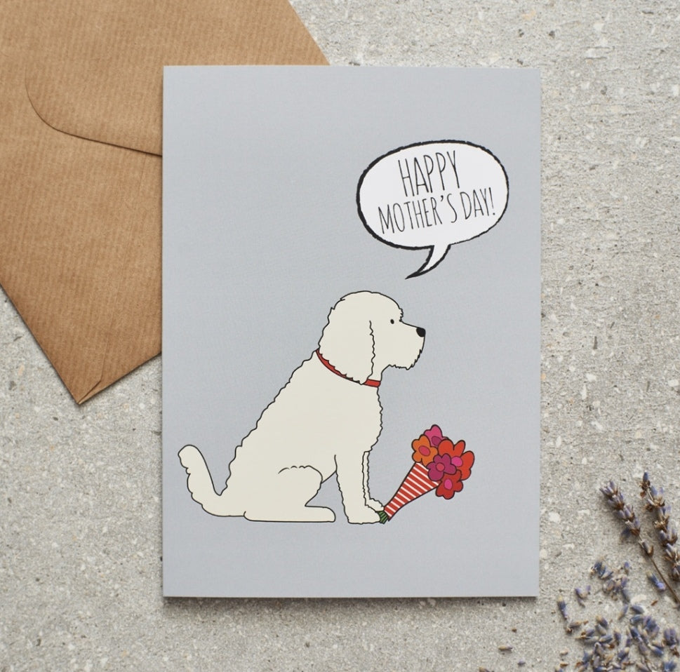 Cockapoo Mothers Day Card