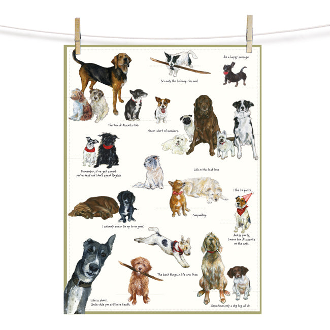 Biscuit Club - Designer Tea Towel