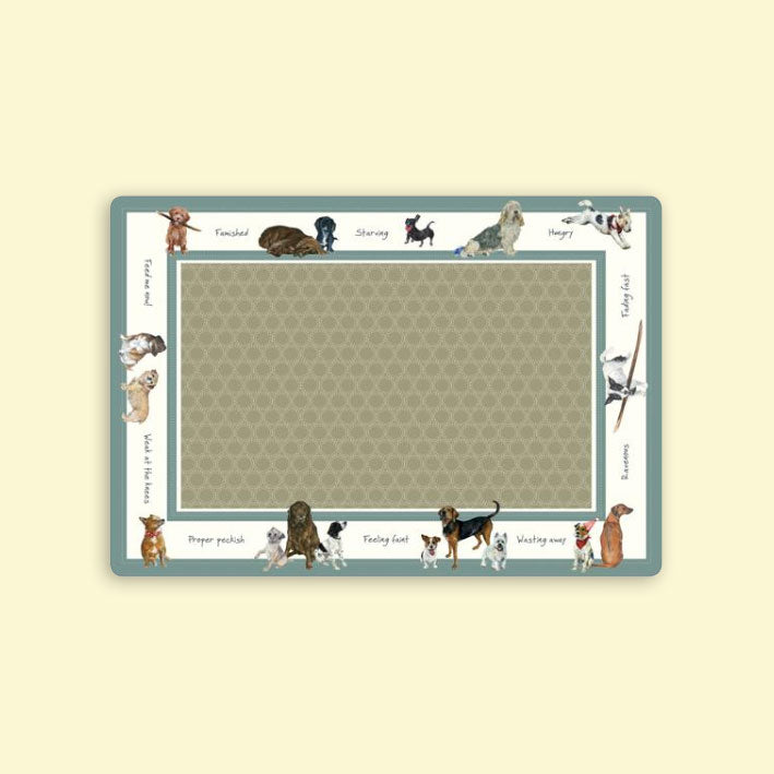 Dog Food Bowl Mat - Small