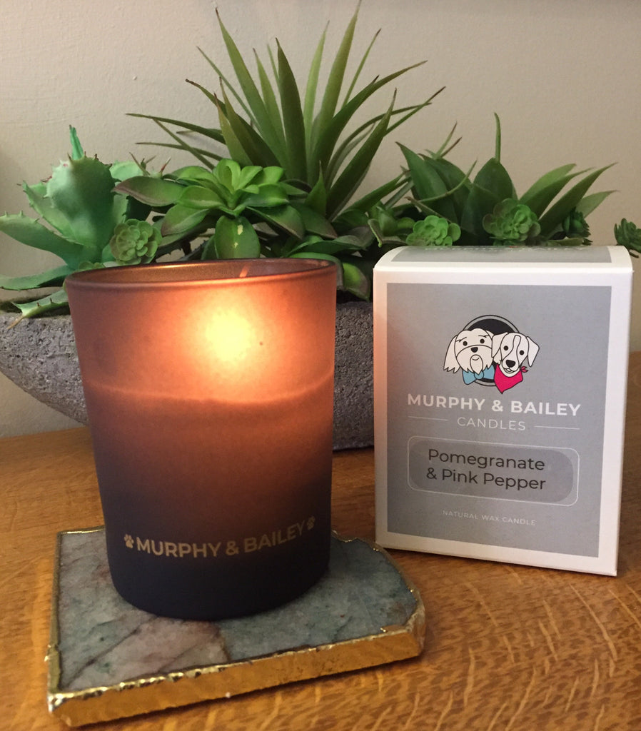 Pomegranate and Pink Pepper Candle