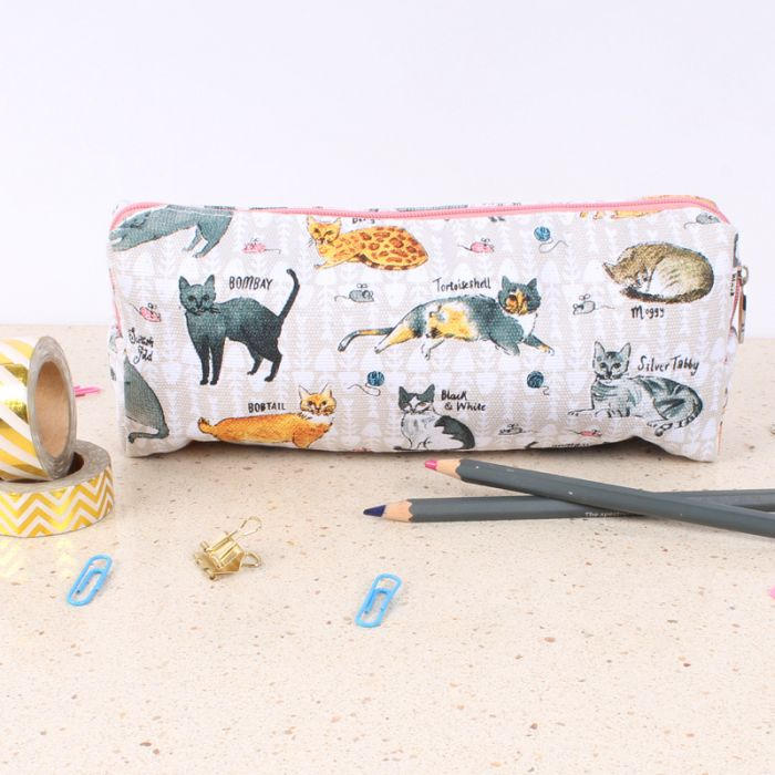 Curious Cats Pencil Case