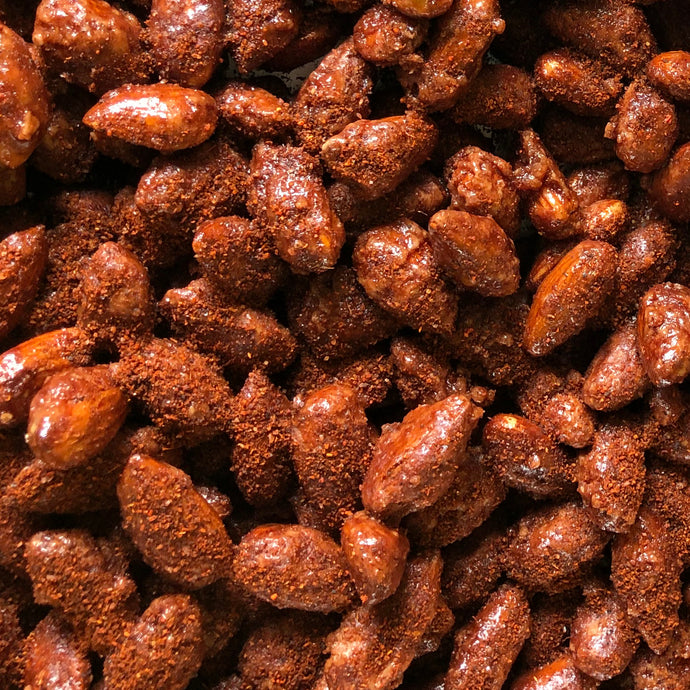 Dark Chili Cinnamon Almonds