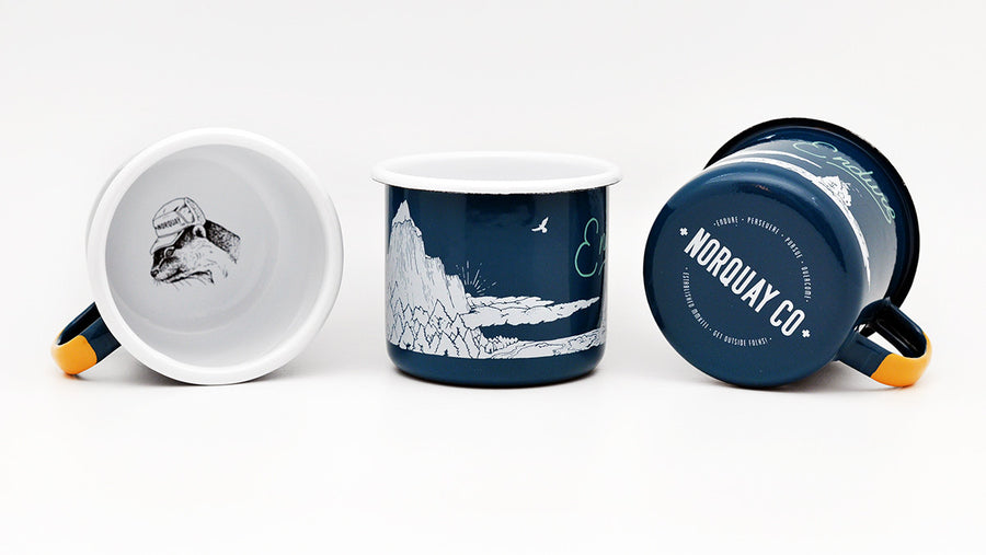 ENDURE - Journey Enamelware Mug