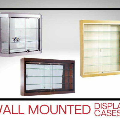 Wall Mounted Premium Display Cases