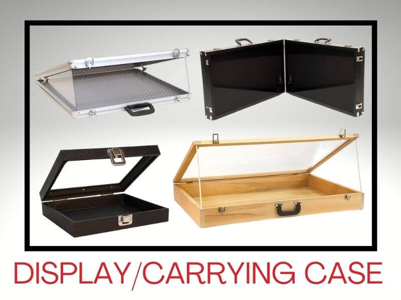 JEWELRY DISPLAY/CARRYING CASES