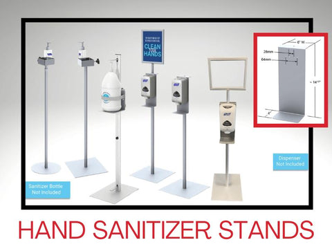 Hand Sanitizer Stands
