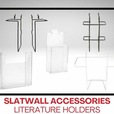 Slatwall Accessories - Literature Holders