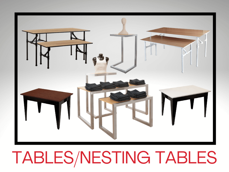 TABLES/NESTING TABLES
