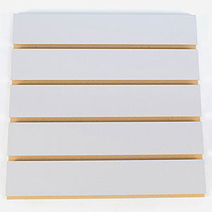 Slatwall - Multiple Colors - Melamine Finish w/ Raw Groove     minimum 15-pcs Order