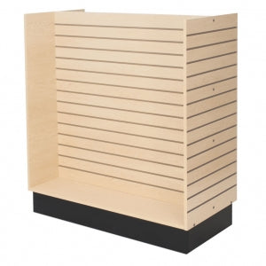 "Slatwall H-unit, 48""x24""x52-1/2""  high"