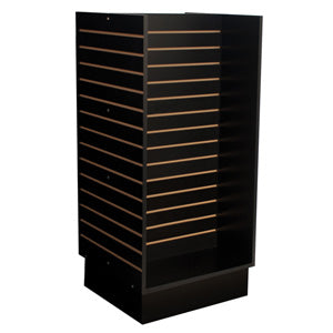 "Slatwall H-unit, 24""x24""x52-1/2"" high"