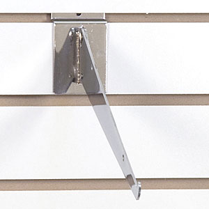 Adjustable Slatwall Shelf Bracket