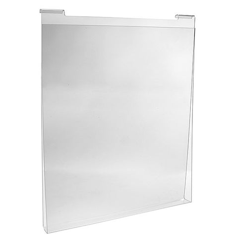 Acrylic T-Shirt Holder for Slatwall and Gridwall (2 pc)