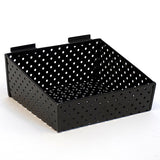 Slatwall Basket Back - Perforated Metal