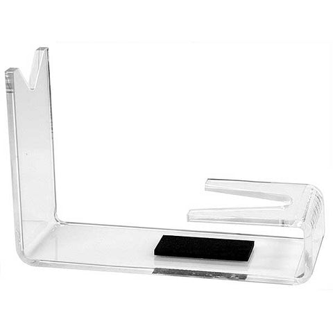 "Countertop Pistol Holder, Acrylic, 6""W x 4""H"