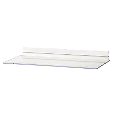 Acrylic Slatwall Shelf