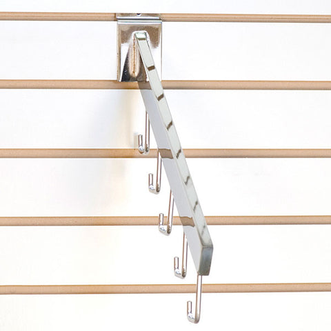 Slatwall Waterfall 5-Hook Rectangular Tube