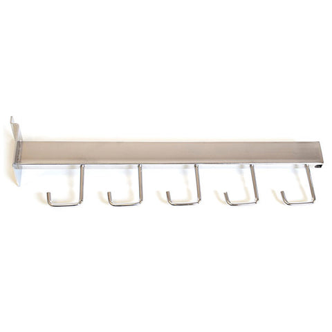 Slatwall Faceout - Rectangular Tube Hook