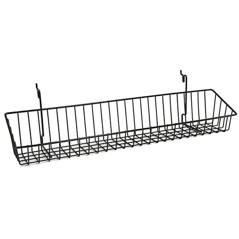 "Wire Basket, 23""w x 4""d x 3""h"
