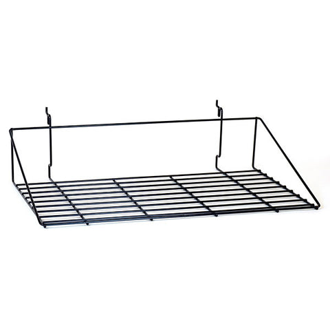 Double Shirt Shelf fits Slatwall, Grid, Pegboard