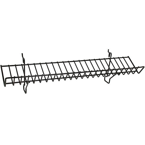 Wire Slatwall Slanted Shelf