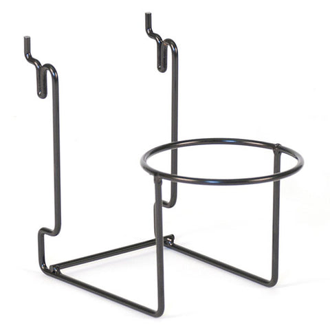"Hat Holder - 4"" Ring Fits Slatwall, Grid, Pegboard"