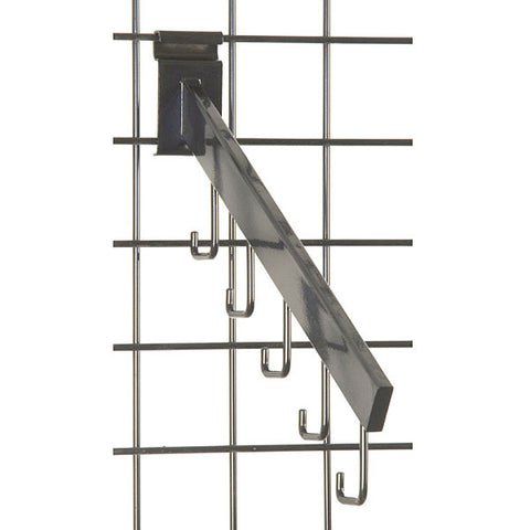 Gridwall 5 Hook Waterfall - Rectangular Tube