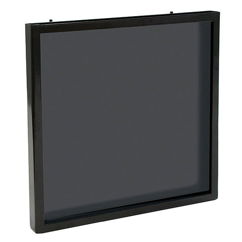 T-shirt holder for Gridwall/Slatwall -Metal Framed with Plex Front