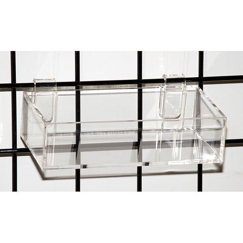 Acrylic Grid Tray - Clear