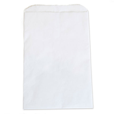 White Kraft Paper Bag - (1m/Case)