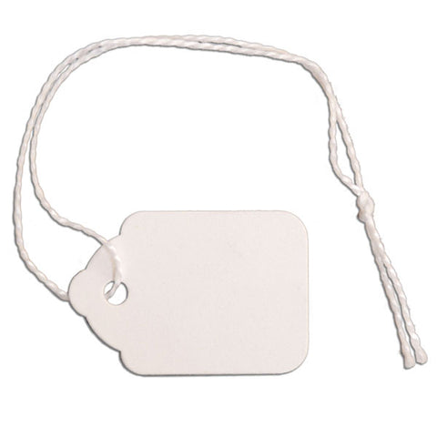 Merchandise Tag with String
