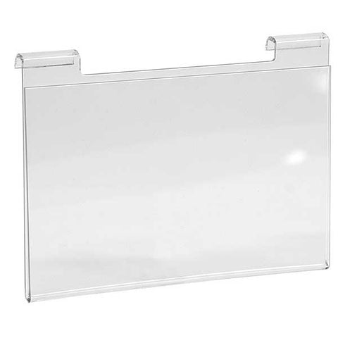 Acrylic Sign Holder - Fits Slatwall and Gridwall