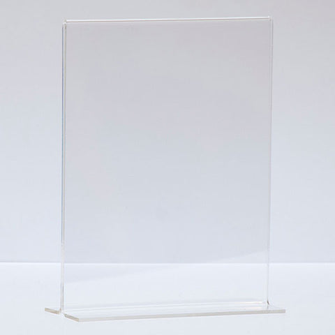 Bottom Load Acrylic Sign Holder, Counter Top