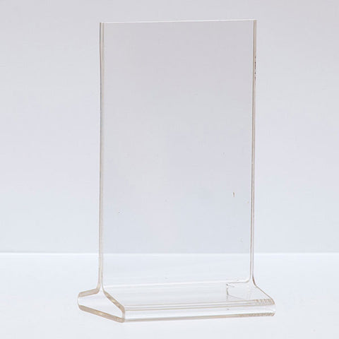 Top Load Acrylic Sign Holder