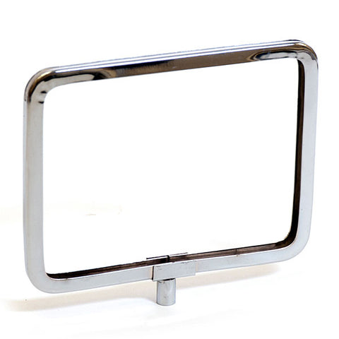 Metal Sign Holder Frame with Rounded Corners - Chrome