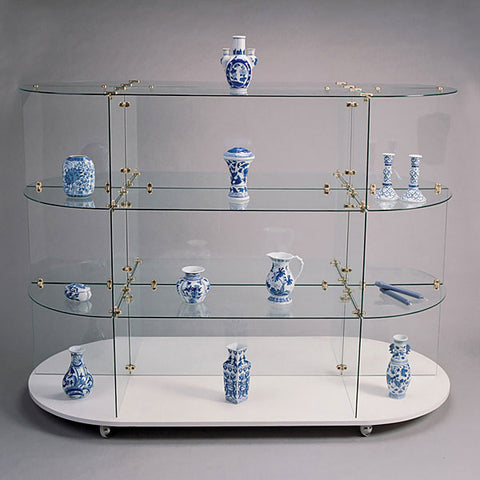 Glass Unit - Oval with Connectors