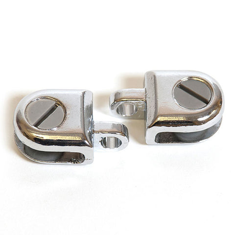 Glass Hasp for 3/16 (2pcs)