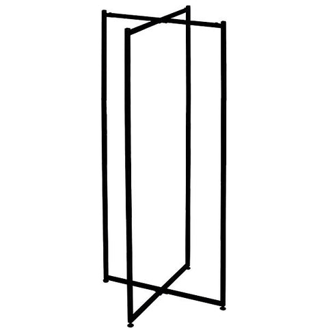 Folding Tower - Black (Frame only, but shelf rests may be included in frame box)