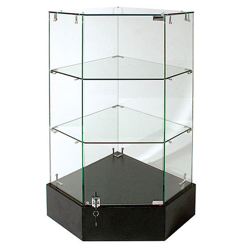 Frameless Glass Corner Unit