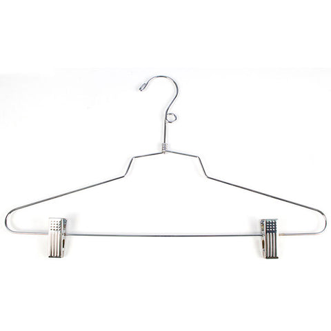 "Combination Hanger 16"" with Loop - Chrome"