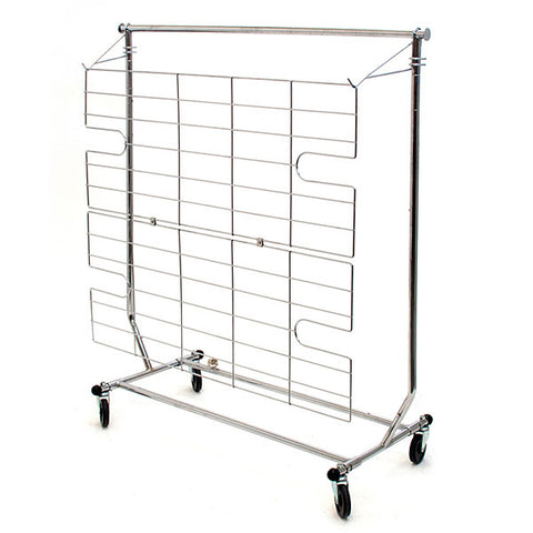 Screen for Rolling Rack - Chrome