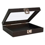 "Display Case, Countertop 8.25""w x 7.25""d x 2""h, Black"