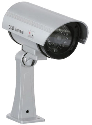 Security Camera - Metal with Red Blinking Light - Simulated