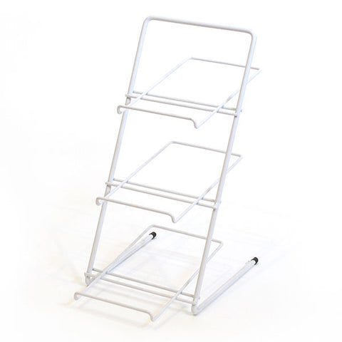 Countertop Rack - Wire Slanted Shelves