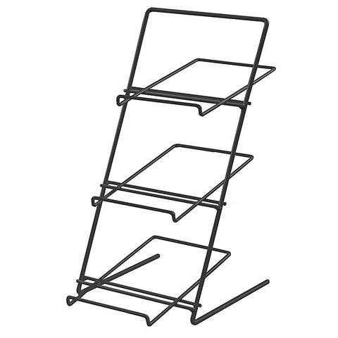 Countertop Rack - Slanted Shelves - Black (like 24314)