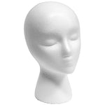 Styrofoam Head - Female with Face