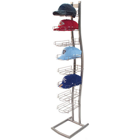 Cap Rack, Wave-Style with Pockets