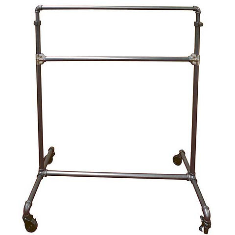 Pipeline Add a Rail for Ballet Rack, Gray
