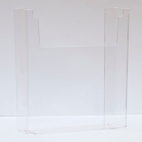 Literature Holder - Wall Mount - Clear Acrylic